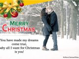 Love Quotes for Xmas Card Most Romantic Merry Christmas Love Quotes for Her & Him