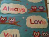 Love School Wild Card Entry Owl Always Love You Valentine S Day Bulletin Board
