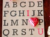 Love U Card for Husband Creative Card Ideas for