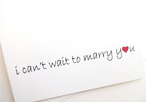 Love U Card for Husband I Can T Wait to Marry You Card Wedding Groom with