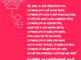 Love Words for Valentine Card Happy Valentines Day Poems for Her for Your Girlfriend or