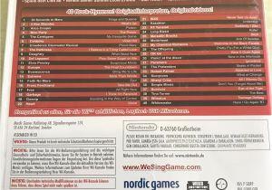 Love You More Than fortnite Card We Sing Rock Nintendo Wii 2011 Dvd Box