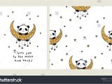 Love You to the Moon and Back Card I Love You to the Moon and Back Set Of Greeting Card with