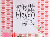 Love Your Melon Gift Card Watermelon Party Mit Bildern Obst Party Diy Party Ideen