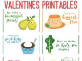 Lover Post Office Valentine Card these 10 Romantic Food Pun Valentines Printables are Perfect