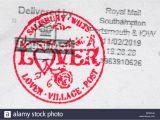 Lover Post Office Valentine Card Valentine Day Card Old Stock Photos Valentine Day Card Old