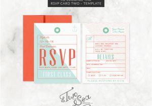 Luggage Tag Invitation Template A2 Luggage Tag Rsvp Card Template Invitation Templates