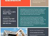 Lunch and Learn Flyer Template Backyard Cottage Lunch Learn