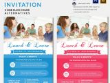 Lunch and Learn Flyer Template Lunch Invitation Template 25 Free Psd Pdf Documents
