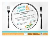 Lunch and Learn Flyer Template Lunch Learn Flyer Work Pinterest
