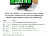 Lunch and Learn Flyer Template March 2014 Talk Tech with Me