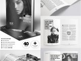 Magazine Templates for Pages 20 Magazine Templates with Creative Print Layout Designs