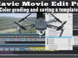 Magix Movie Edit Pro Templates Magix Movie Edit Pro Dji Mavic Pro Color Grading Video