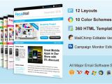 Mailchimp Mobile Email Templates Focusmail Premium Email Template Mailchimp and
