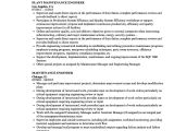 Maintenance Engineer Resume Industrial Maintenance Electrician Resume