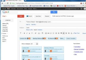 Make Email Template Gmail Create Email Templates Easily Send Repetitive Emails