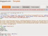 Make Your Own Blogger Template Howto Create Your Own Blogger Template From Scratch