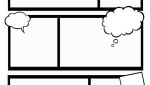 Make Your Own Comic Strip Template Comic Book Template Stretch Your Creativity and Create