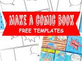 Make Your Own Comic Strip Template Free Comic Book Template