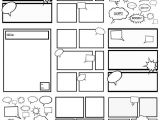Make Your Own Comic Strip Template Free Comic Strip Templates Great for Kids to Color Cut