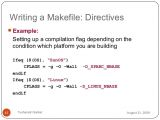 Makefile Template Introduction to Makefile