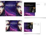 Makeup Artist Flyer Template Free Makeup Artist Postcard Template Word Publisher
