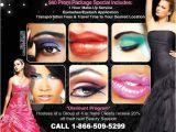 Makeup Flyer Templates Free Make Up Artist Promotional Flyer Design Graphic Design