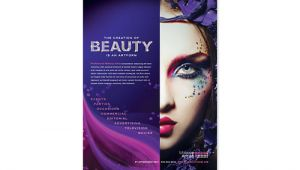 Makeup Flyer Templates Free Makeup Artist Tri Fold Brochure Template Design