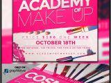 Makeup Flyer Templates Free Makeup Course Flyer Template On Behance