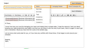 Making Email Templates How Do I Create Email Templates In Direct Campaigns App