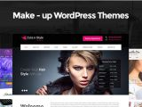 Making WordPress Templates Make Up WordPress themes for Makeup and Cosmetics Style