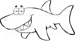 Mako Template Mako Shark Clipart Printable Pencil and In Color Mako