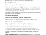 Management Consulting Proposal Template Sample Consulting Proposal