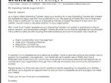 Management Trainee Cover Letter Samples Cover Letter for Management Trainee Marketing