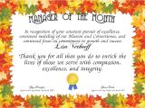 Manager Of the Month Certificate Template Manager Of the Month Certificate Created with