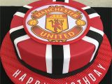 Manchester United Happy Birthday Card Manchester United Happy Birthday Cake