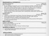 Manufacturing Engineer Resume Resume Examples Resume and Sample Resume On Pinterest