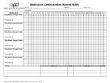 Mar Template Nursing 9 Best Images Of Printable Medication Administration