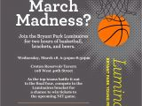 March Madness Email Template Bryant Park Blog are You Mad for March Madness