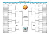 March Madness Email Template Printable 2016 March Madness Bracket
