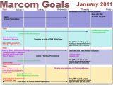 Marcom Strategy Template Marketing Communications Marcom Online Marketing Calendar