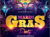 Mardi Gras Flyer Template Free Download Mardi Gras Party Flyer Psd Template by Audioneptune On