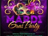 Mardi Gras Flyers Templates Mardi Gras Party Flyer Template by Megakidgfx Graphicriver