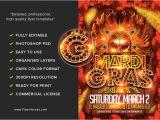 Mardi Gras Flyers Templates Mardi Gras Party Flyer Template Flyerheroes