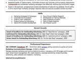 Marketing Professional Resume 30 Professional Marketing Resume Templates Pdf Doc