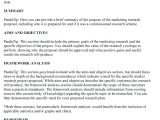 Marketing Research Brief Template Template Marketing Plan Proposal Template Proposals