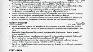 Marketing Resume Sample Marketing Resume Sample Resume Genius