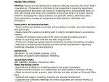 Marketing Student Resume 28 Marketing Resume Templates Pdf Doc Free Premium
