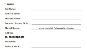 Marriage Agreement Contract Template Marriage Contract Template 14 Download Free Documents