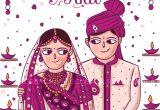 Marriage Card Design In Gujarati Gujarati Wedding Invitation Illustration and Design by Www